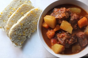 Ujeke and Oxtail Stew